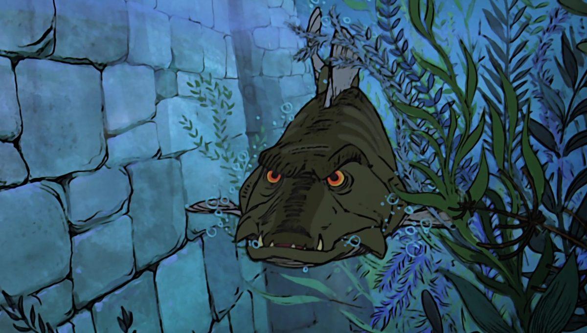 brochet pike disney animation merlin enchanteur sword stone personnage character