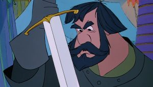 chevalier noir black bart disney animation merlin enchanteur sword stone personnage character