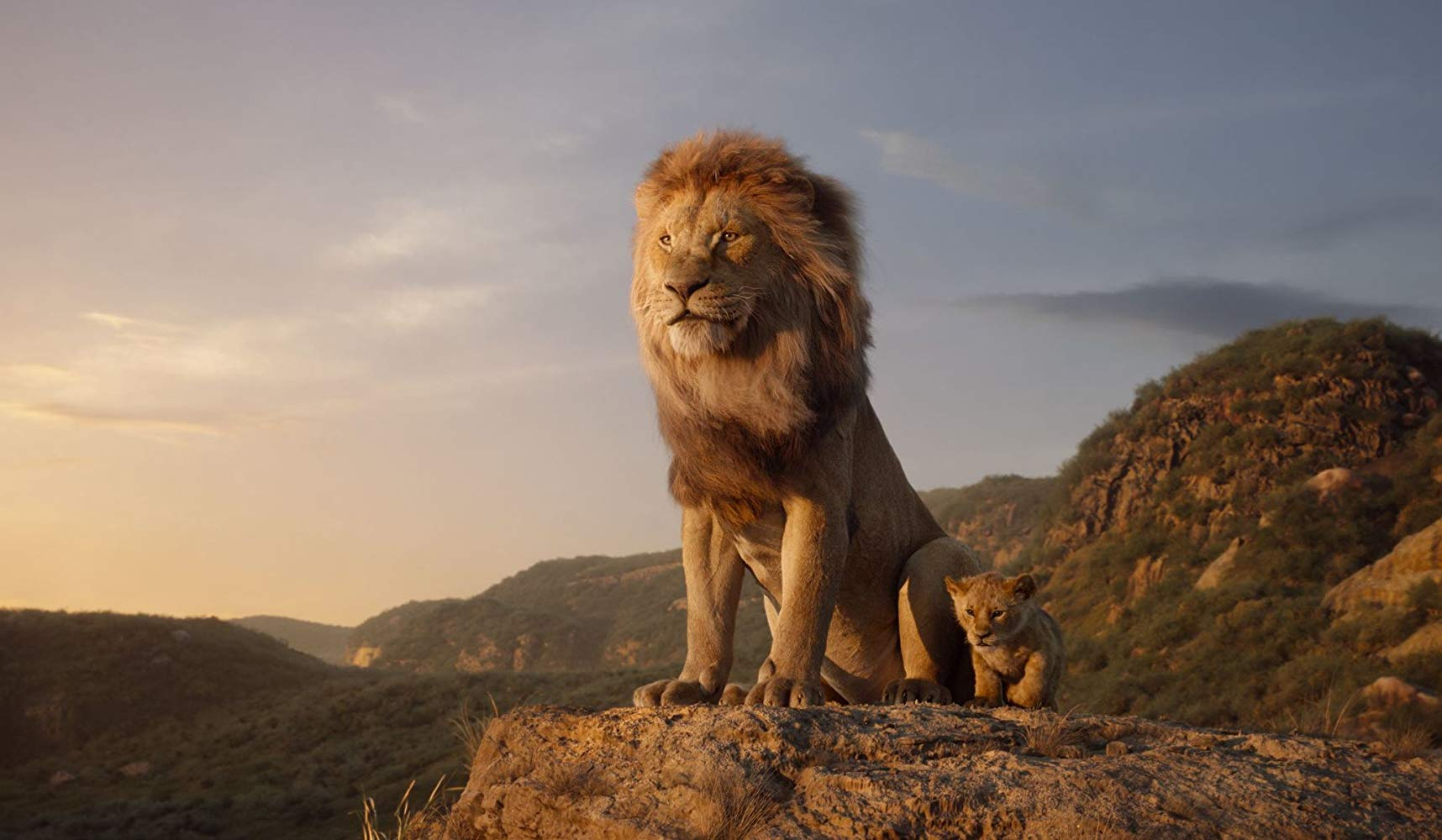 Image roi lion king film disney