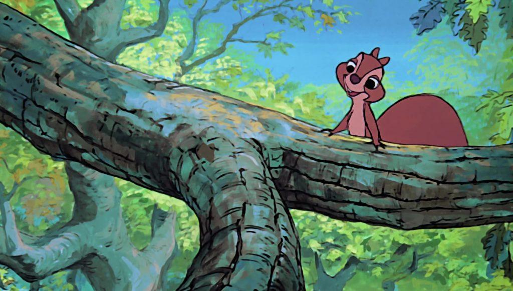 jeune écureuil squirel girl disney animation merlin enchanteur sword stone personnage character