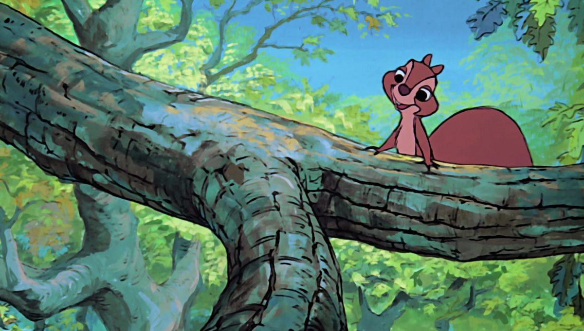jeune écureuil squirrel girl disney animation merlin enchanteur sword stone personnage character