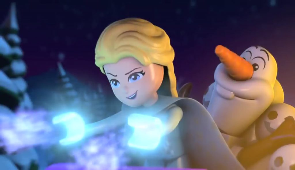 Disney Channel Lego frozen northern lights