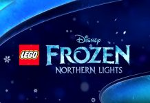 Disney Channel Lego frozen northern lights