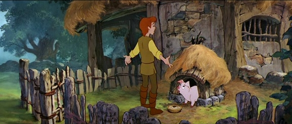 les films d'animation abandonnés par Disney Illustration Taram pour The Prince and The Pig