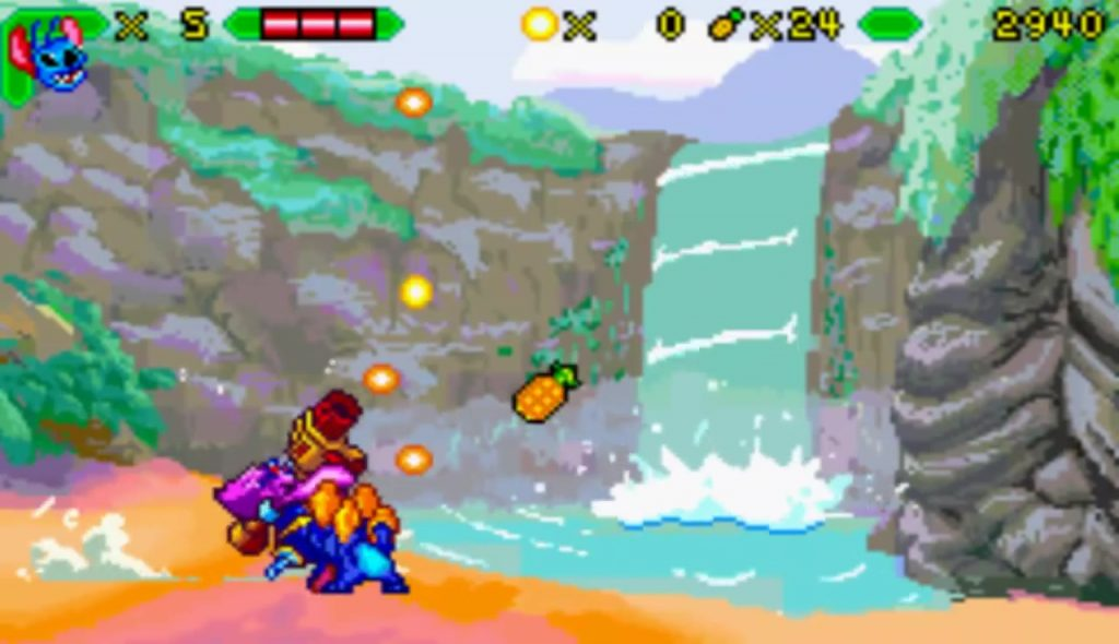 Disney interactive lilo et stitch jeu video gba