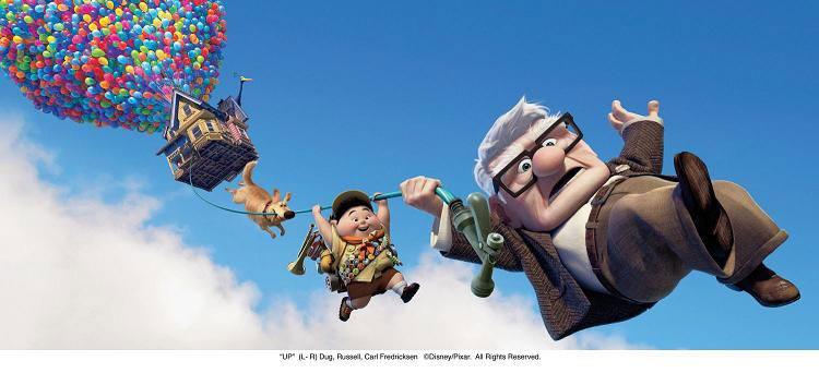 Images promotionnelles Là-haut Up Pixar Disney