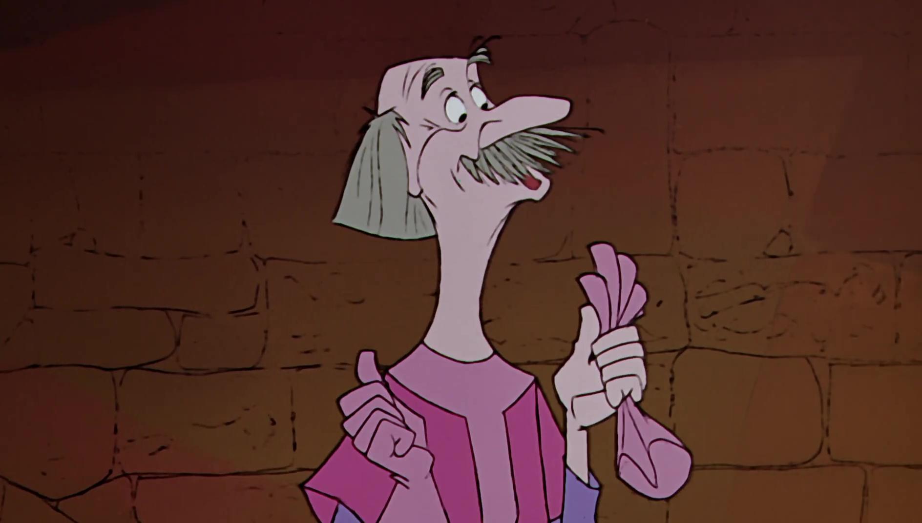 sire pélimore pellinore disney animation merlin enchanteur sword stone personnage character