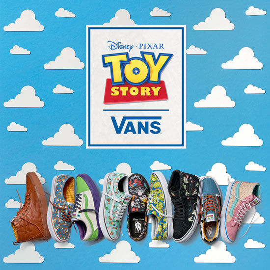 shoes chaussures toy story vans collection pixar disney