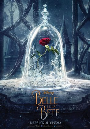 affiche poster walt disney pictures la belle et la bête beauty and the beast film 2017