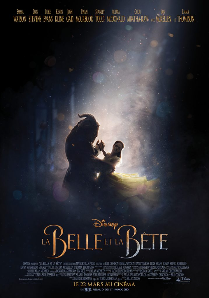 disney pictures belle et la bête beauty and the beast film 2017 affiche poster