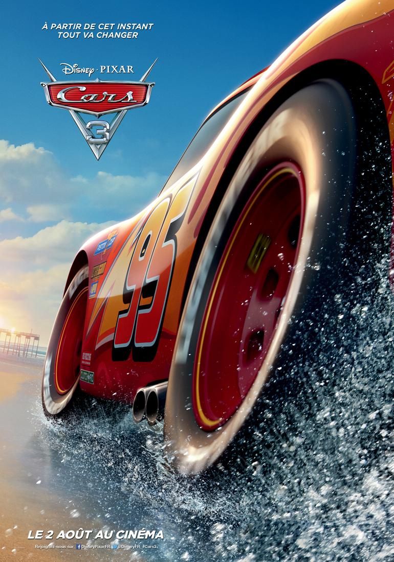 affiche cars 3 poster pixar disney