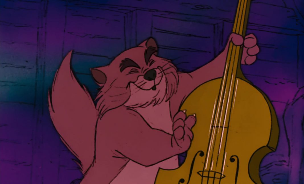 billy boss chat jazz personnage character aristochats aristocats disney animation