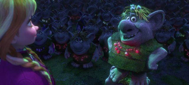 bulda troll personnage character disney animation reine neiges frozen