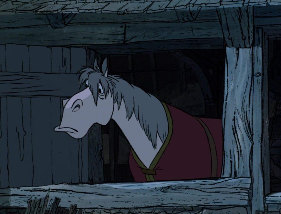 capitaine cheval horse captain personnage character 101 dalmatiens dalmatians disney animation