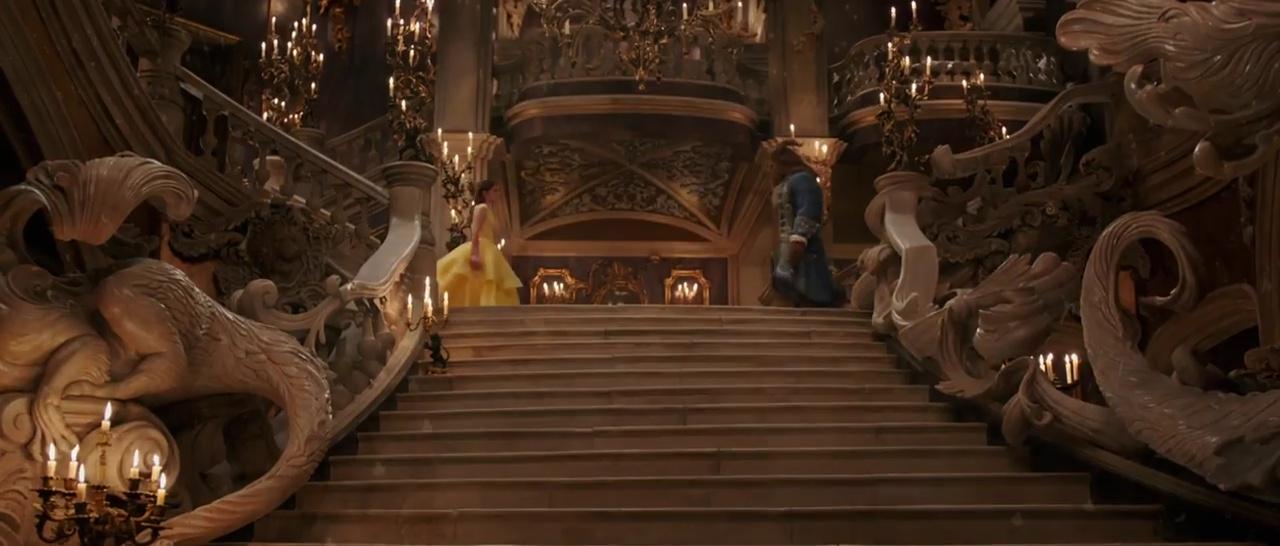 La Belle Et La Bête Film 2017 La Première Bande Annonce