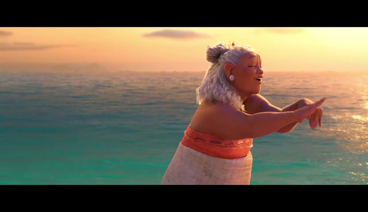 Vaiana » : un extrait avec Tala, la grand-mère de l'héroïne ...