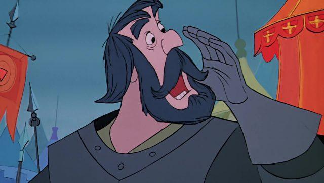 chevalier noir black bart disney animation merlin enchanteur sword stone personnage character