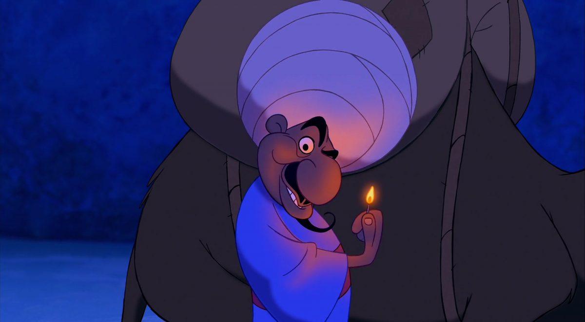 colporteur peddler personnage character aladdin disney animation