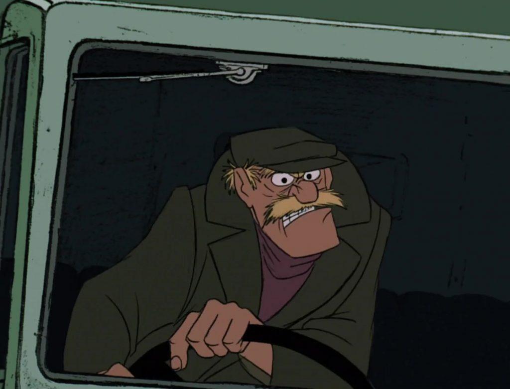 déménageur truck driver personnage character 101 dalmatiens dalmatians disney animation