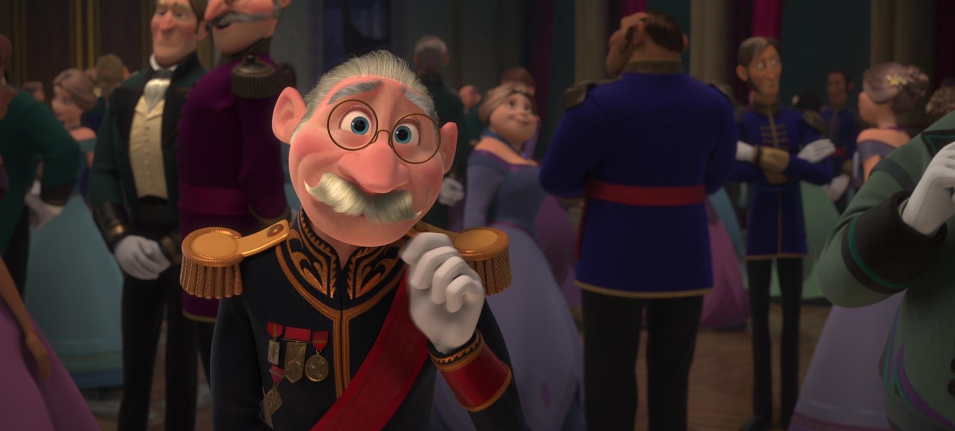 duc de weselton personnage dans la reine des neiges
