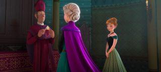 évêque bishop personnage character disney animation reine neiges frozen