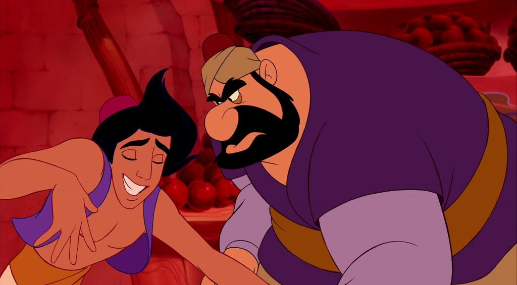 farouk personnage character aladdin disney animation