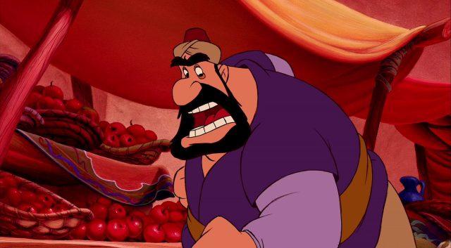 farouk personnage character aladdin disney animation