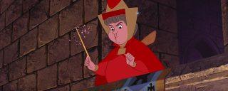 flora fée fairy personnage character la belle au bois dormant sleeping beauty disney animation