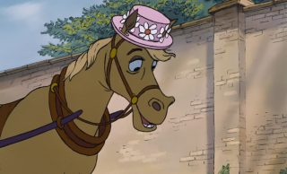 frou frou cheval horse personnage character aristochats aristocats disney animation