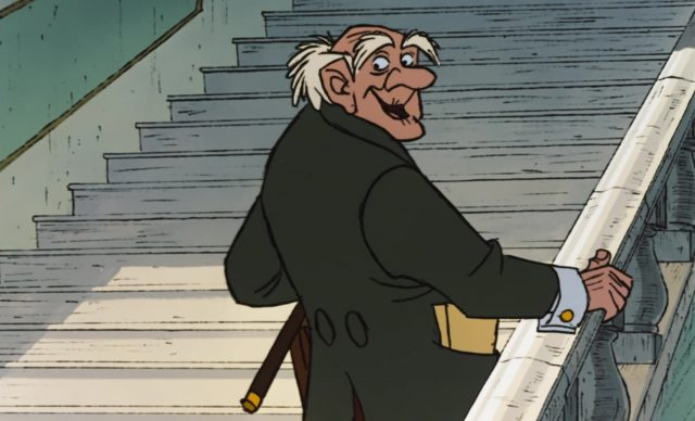 georges hautecour avocat lawyer personnage character aristochats aristocats disney animation