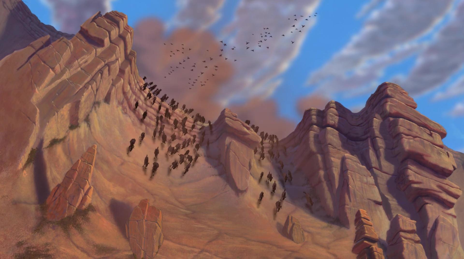 Les Gnous Personnages Dans Le Roi Lion Disney Planet