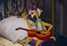 hit cat chat jazz personnage character aristochats aristocats disney animation