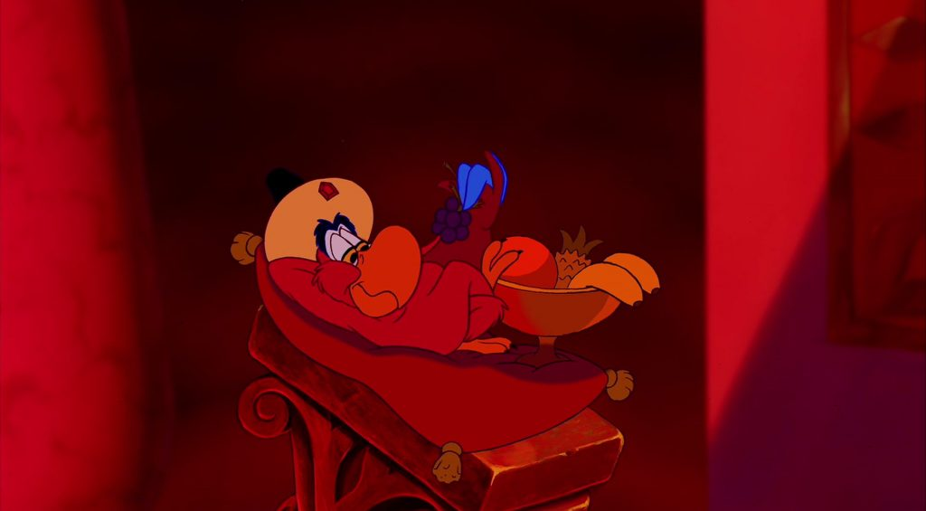 iago personnage character aladdin disney animation