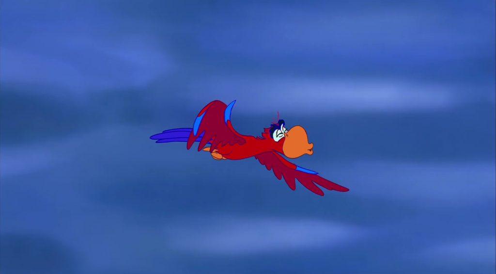 iago personnage character aladdin disney animation