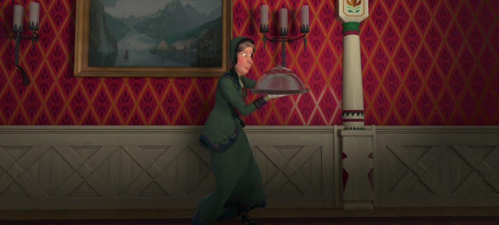 kai gerda personnage character disney animation reine neiges frozen