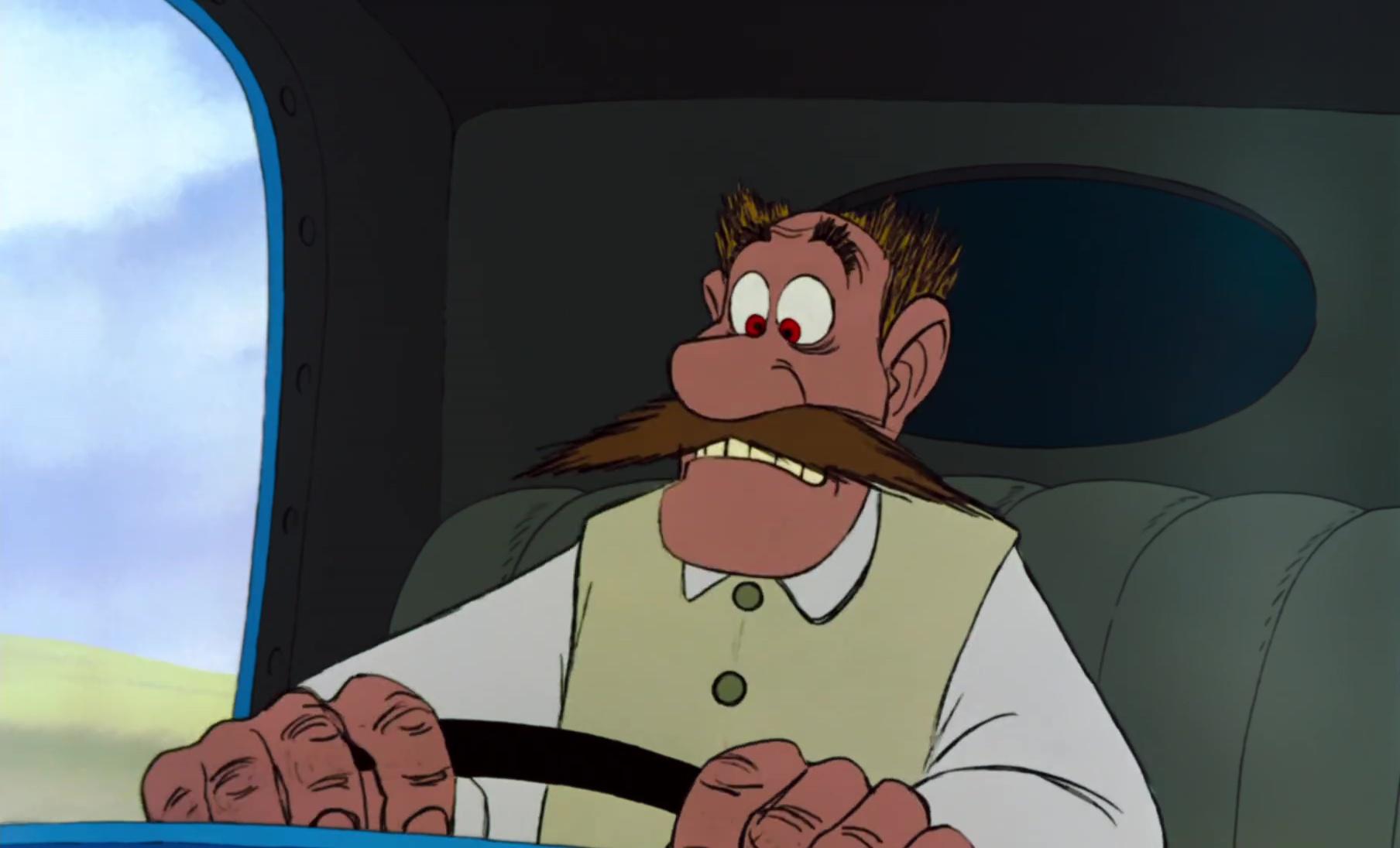 laitier milkman personnage character aristochats aristocats disney animation