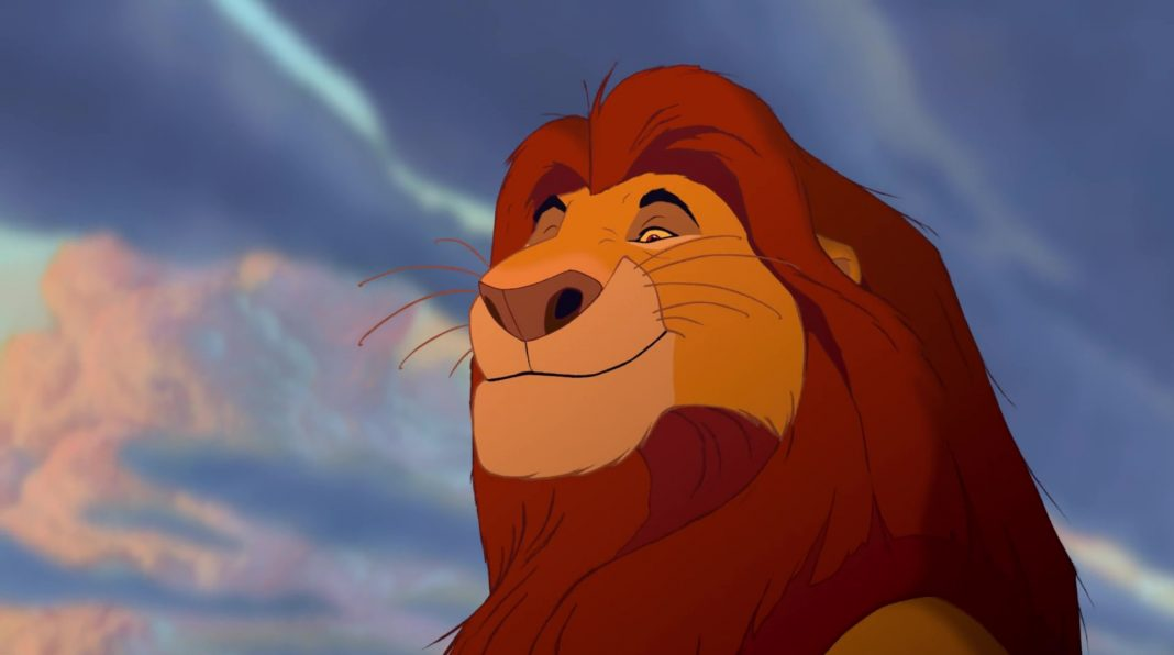 mufasa disney animation personnage character roi lion king