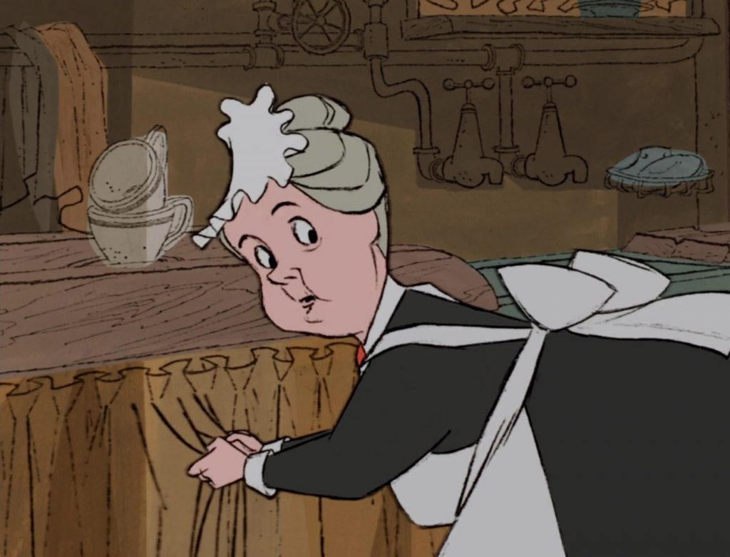nanny personnage character 101 dalmatiens dalmatians disney animation