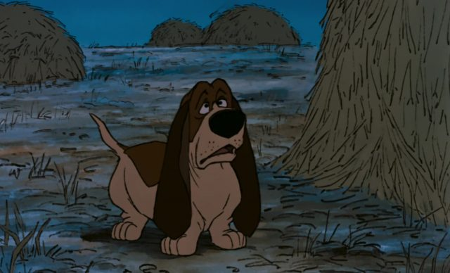 napoleon lafayette chien dog personnage character aristochats aristocats disney animation