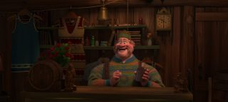 oaken personnage character disney animation reine neiges frozen