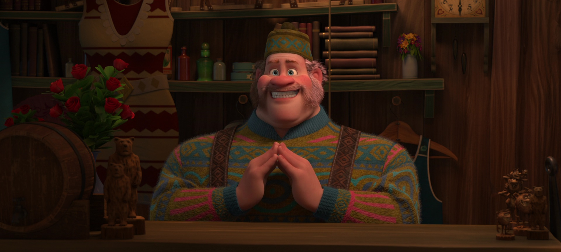 oaken personnage character disney animation reine neiges frozen