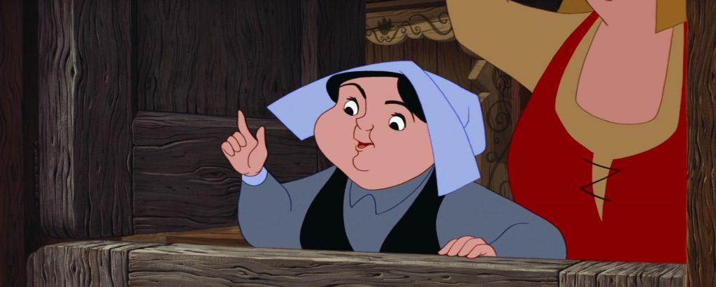 pimprenelle Merryweather fée fairy personnage character la belle au bois dormant sleeping beauty disney animation