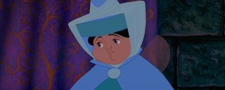 pimprenelle Merryweather fée fairy personnage character la belle au bois dormant sleeping beauty disney animation