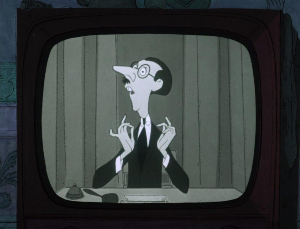 presentateur quizmaster personnage character 101 dalmatiens dalmatians disney animation