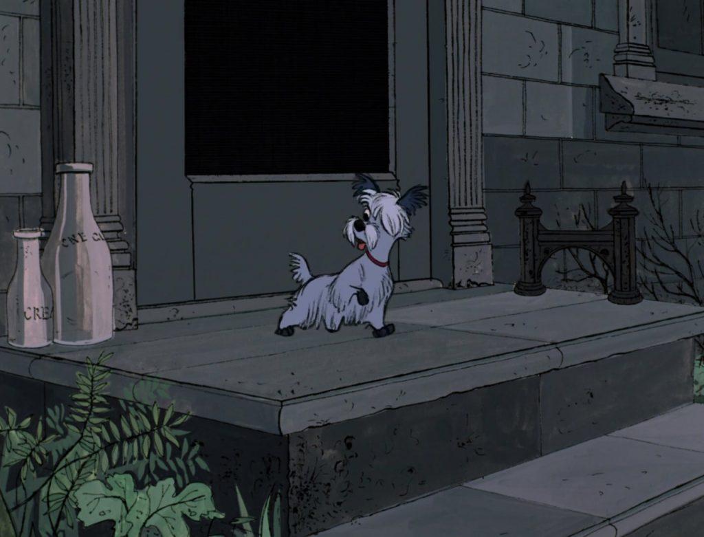 puce scottie personnage character 101 dalmatiens dalmatians disney animation