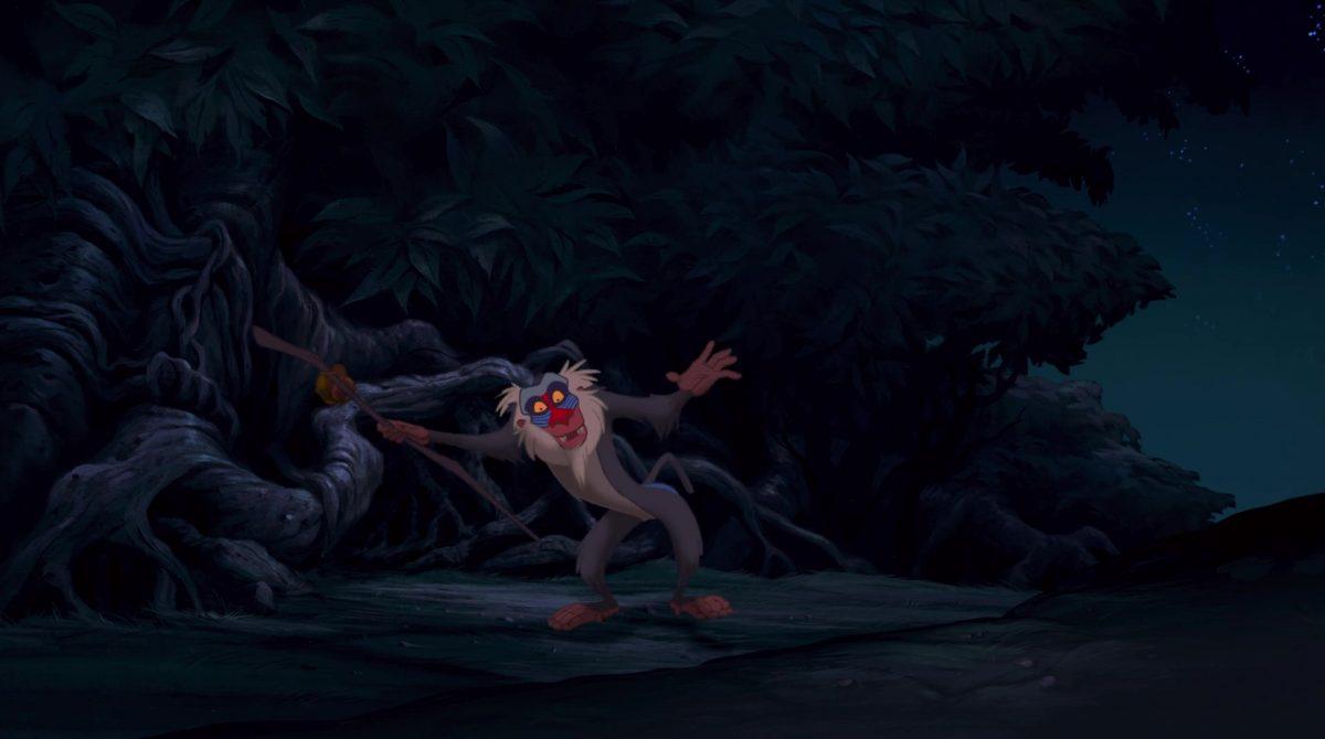 rafiki mandrill disney animation personnage character roi lion king