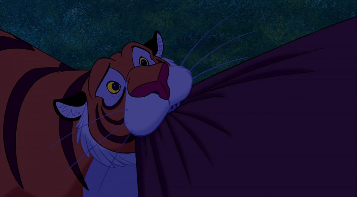 rajah personnage character aladdin disney animation