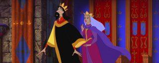 reine orhiane queen leah personnage character la belle au bois dormant sleeping beauty disney animation