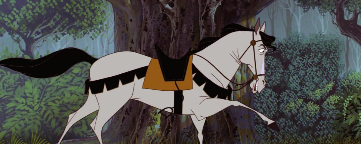 samson cheval horse personnage character la belle au bois dormant sleeping beauty disney animation