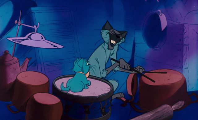 shun gon cat chat jazz personnage character aristochats aristocats disney animation